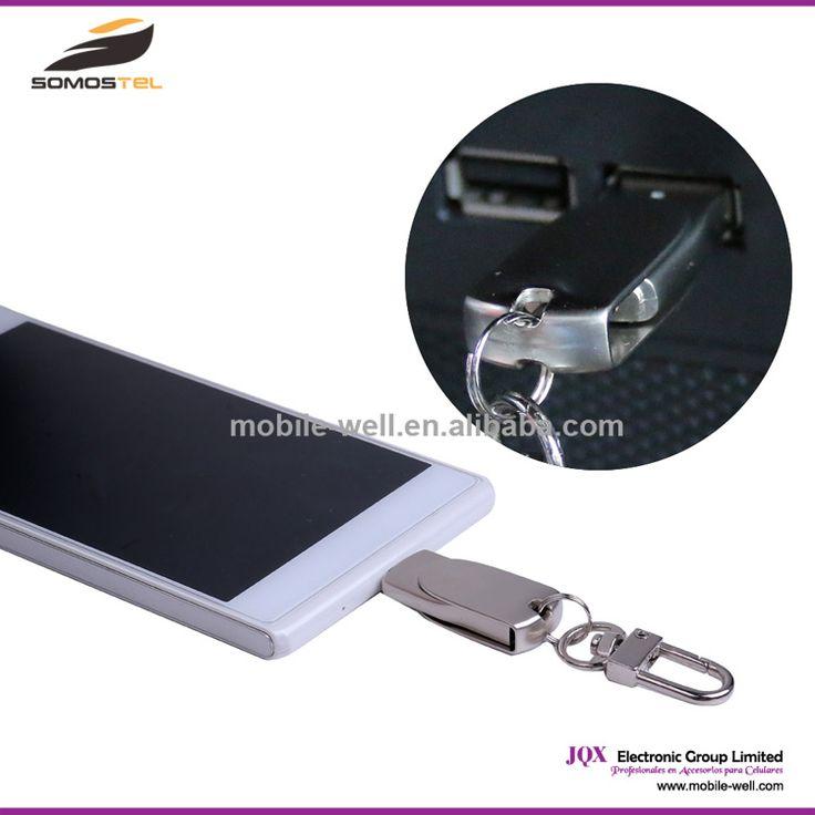 [Somostel] Waterproof metal Mobile Phone U Disk Smart Phone OTG USB Flash Drives 3.0 Pen driver android u disk