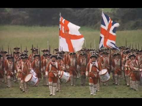 """English Grenadiers from """"Barry Lyndon"""" directed by Stanley Kubrick.... fun watch and good dancing...""""Their scarlet coats and swaggering airs filled Barry with envy....."""""""