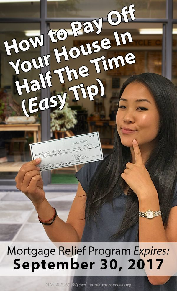 HOW TO PAY OFF YOUR HOUSE ASAP (Easy Tip): If you owe less than $300,000 on your home, use Congress's free refi program. The program is totally free and doesn't add any cost to your refi, but it expires this year. You'll be surprised when you see how much you can save.