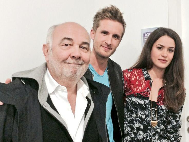 L'équipe de Babysitting ! Gérard Jugnot, Philippe Lacheau, Alice David