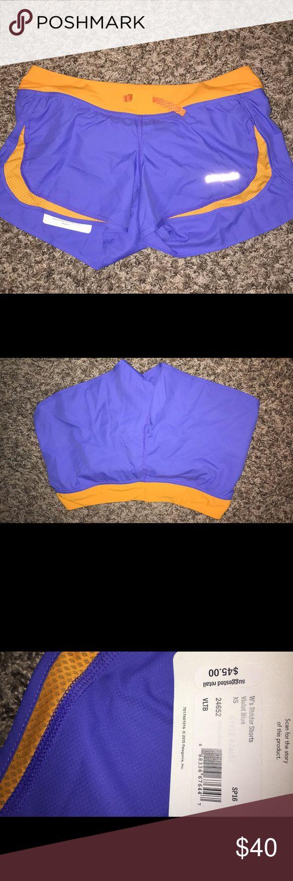 Patagonia women's shorts Brand new never worn! Purple & orange Patagonia Shorts