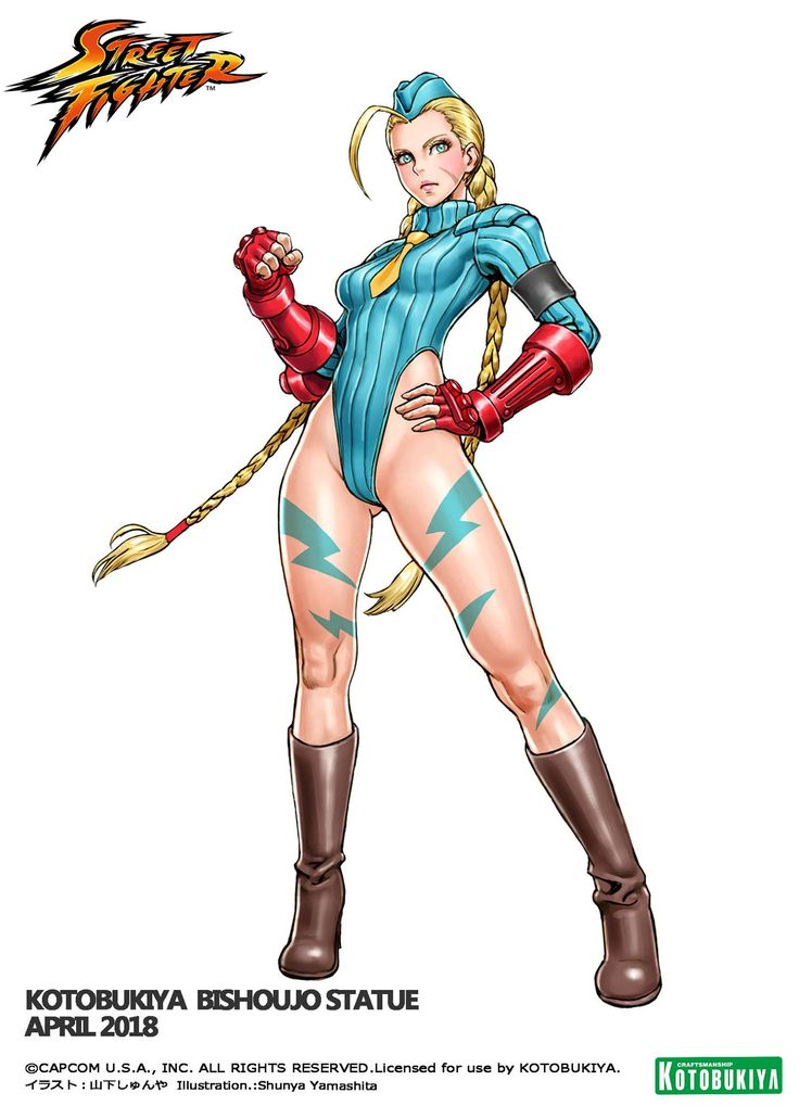 Street Fighter Zero - Cammy - Vers.2 - Bishoujo Statue - Kotobukiya (Apr 2018) - Statuen / PVC - Figuren - Japanshrine