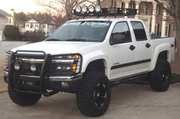 chevy colorado lifted cover - Google Search