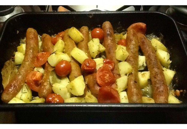 Sausage Bake - Real Recipes from Mums