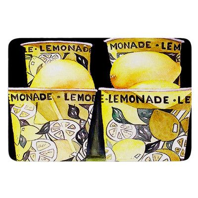 East Urban Home Lemonade by Rosie Brown Bath Mat