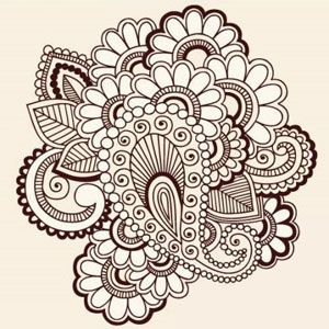 Doodles: Mehndi, Henna Tattoos, Doodles, Henna Design, Tattoo'S, Tattoo Design, Zentangle, Paisley Doodle