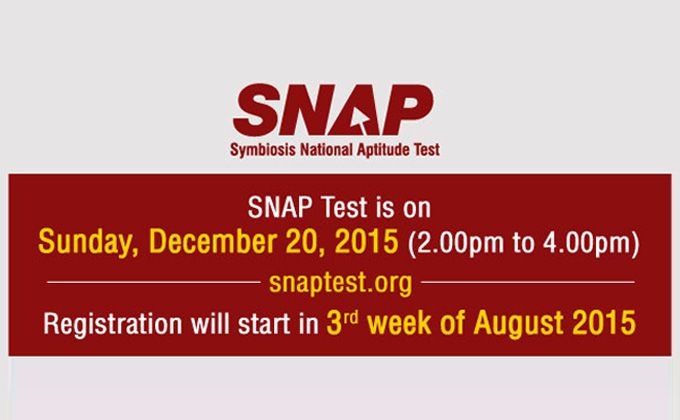 Symbiosis National Aptitude Test (SNAP) is conducted by Symbiosis International University (SIU), Pune for admission to various post graduate programs for the academic year 2016-18. For more detail visit us at http://www.mbarendezvous.com/snap/