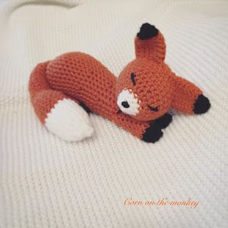 Gummy Worms   the crochet sleeping fox       I wanted to share a free pattern with everyone that I came up with today! Gummy Worm...