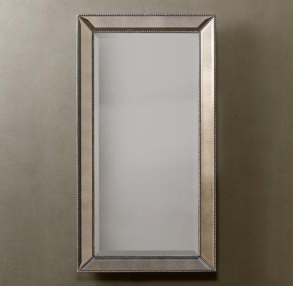 venetian beaded leaner mirror 599 sparkles from edge to
