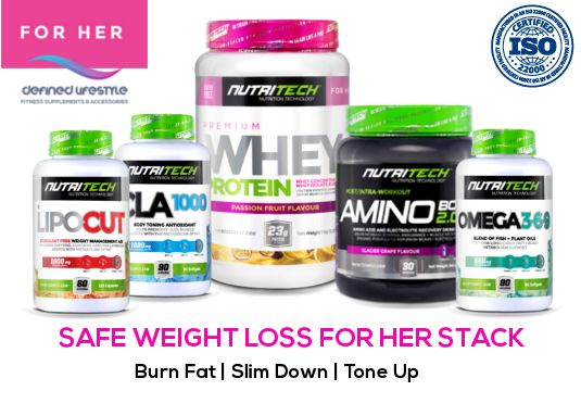 Buy Nutritech SAFE Weight Loss For Her Stack | Free Shipping for R929.00