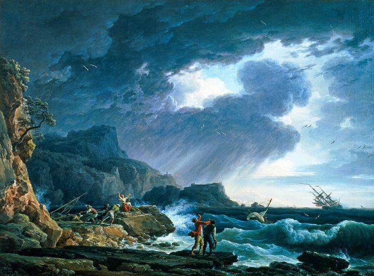 Une Tempête | Claude-Joseph Vernet