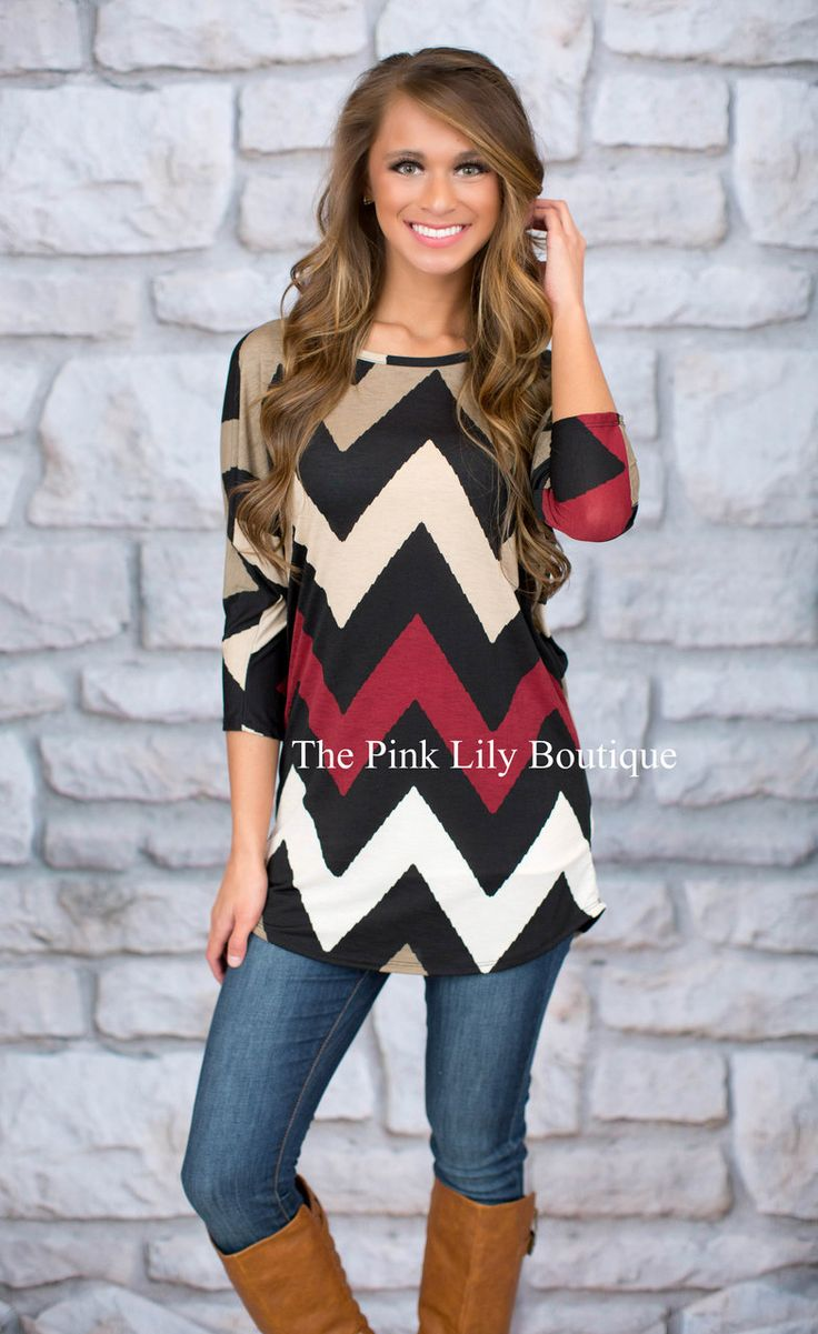 Break Away Tunic Burgundy - The Pink Lily Boutique