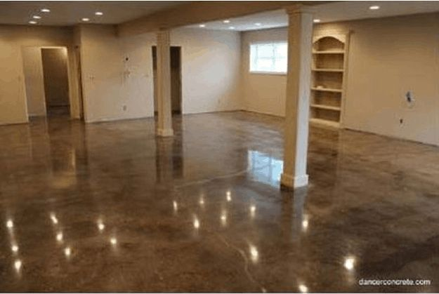 Acid Stain Concrete Flooring | 10 DIY Home Project Ideas For Your Cement Floors