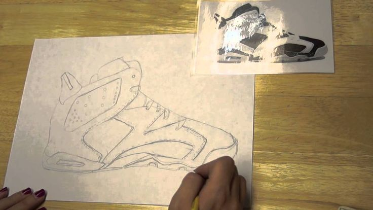 Contour Line Drawing Lesson Elementary : Contour line drawing of a shoe videos and worksheets