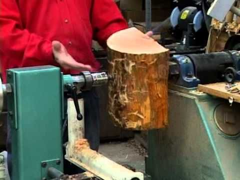 Lyle On Mounting Wood Blanks On A Lathe Youtube To