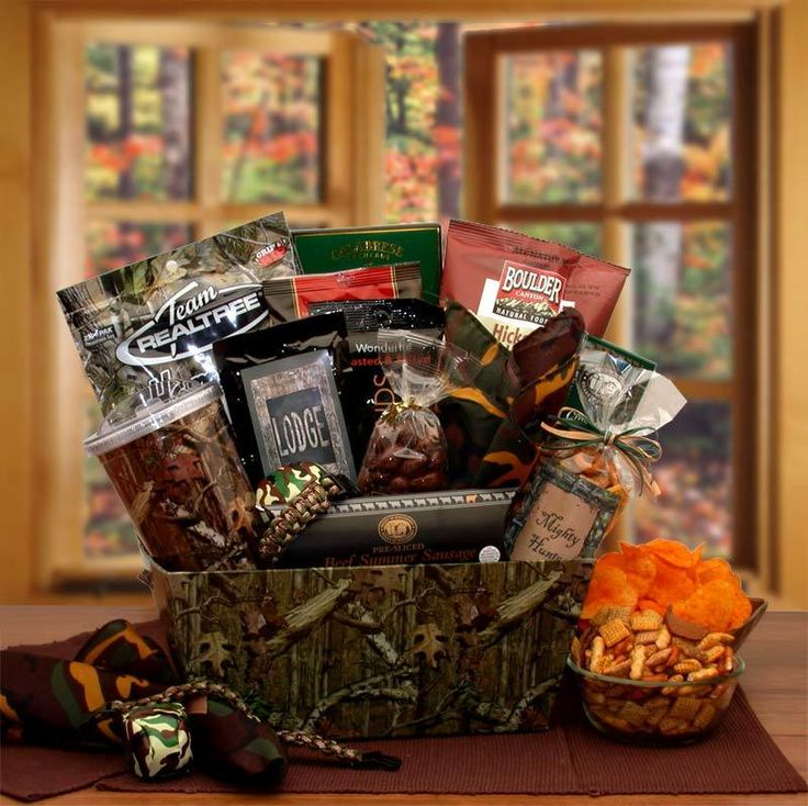 26 best sports baskets images on pinterest gift basket ideas where can i find its a camo thing fathers day gift set gift basket for christmas gifts idea stores negle Images