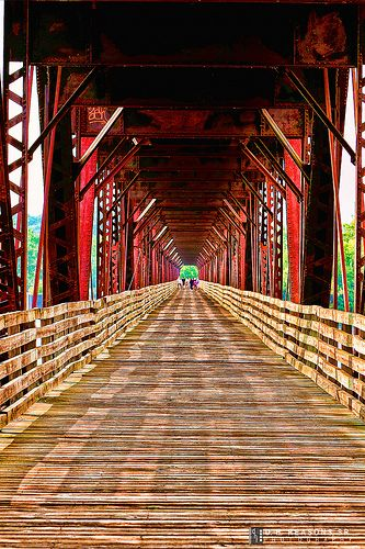 The Old Railroad Bridge~Florence, Alabama
