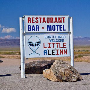 Nevada's Extraterrestrial Highway,and Getaway. Under 2 hrs. from Las Vegas.