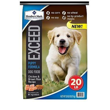 Member's Mark Exceed Puppy Food, Chicken and Rice (20 lbs.) >>> Read more  at the image link. (This is an affiliate link and I receive a commission for the sales)