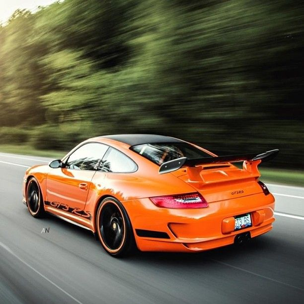 Check out this orange Porsche GT3 RS .Thoughts?