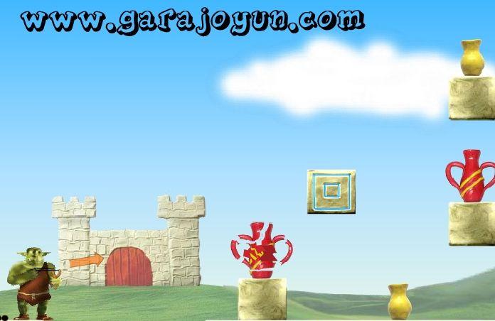 Vazo Kırma isimli beceri oyununu oynayarak iyi bir şekilde sapan kullanabildiğinizi ispatlamalısınız.  http://www.garajoyun.com/vazo-kirma.html