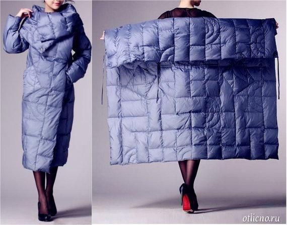 Несложная выкройка пальто без пуговиц