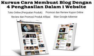 Cara Membuat Blog, Toko Online, Iklan Google, Promosi Produk Afiliasi