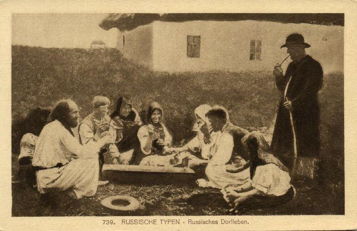 Russia Russian Types Russian Village Life 1915 | eBay