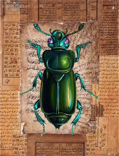 beetle - Turkish artist Ergin İnan is one majorly prolific insect-obsessed artist