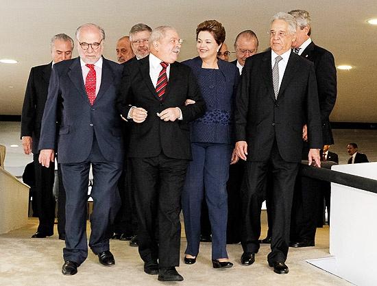 Comissão da Verdade - Dilma Vana,Luis Ignácio Lula e Fernando Henrique