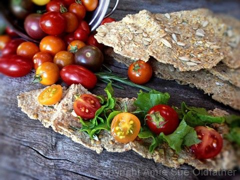 94 best raw crackers images on pinterest vegan gluten free nut raw crispy rosemary flatbread crackers almond pulp based forumfinder Gallery