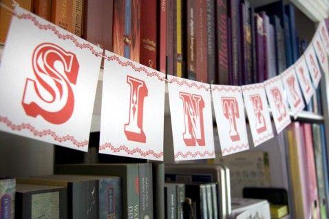 Gratis DIY Sinterklaas Slinger - Het Zijstraatje