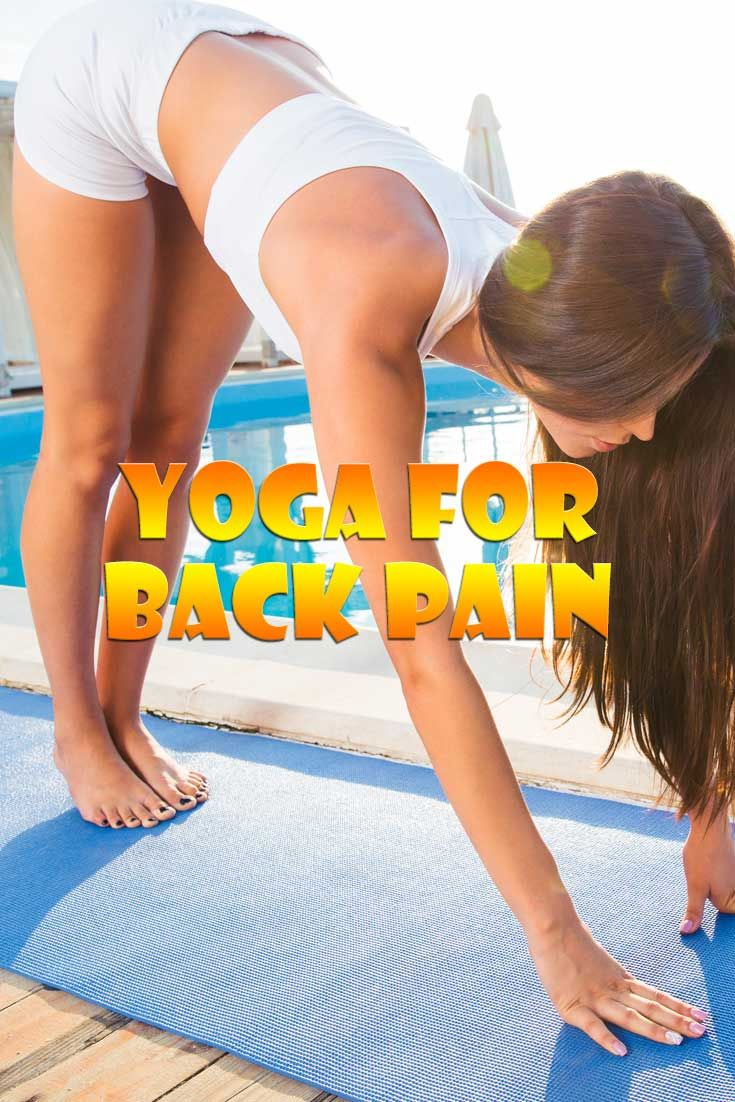 One of the best ways to have relief from lower back pain is through Hatha Yoga exercises. Yoga poses can help the symptoms and root causes of back pain.