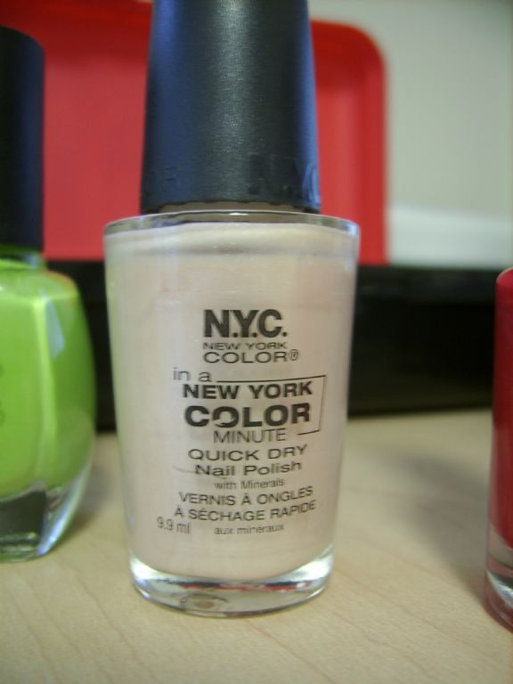 New York Color In a New York Color Minute Quick Dry Nail Polish - Mulberry Street 212