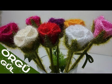 Tığ işi Papatya Yapımı - Örgü Modelleri - YouTube