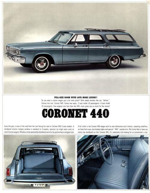 1965 Dodge Coronet 440 Station Wagon