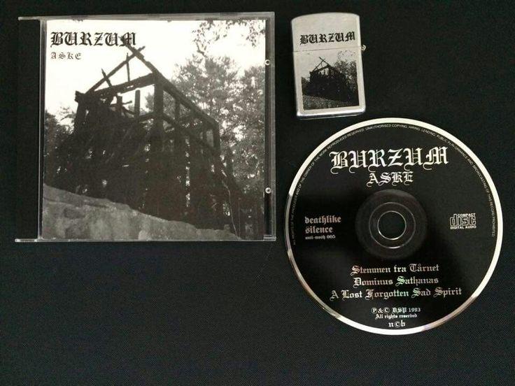 Burzum Aske Released On March 1993 With Lighter Black