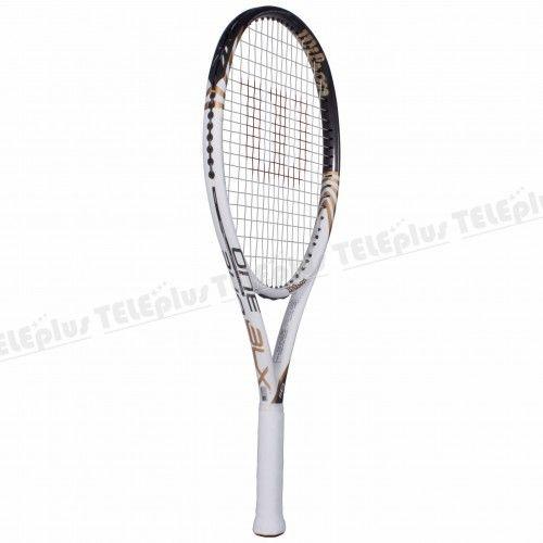 Wilson One BLX2 118 Tenis Raketi - MÜKEMMEL KONFOR VE SAĞLAMLIKLA BİRLİKTE AZAMİ GÜÇ  KORTUN HER NOKTASINDAN DAHA GENİŞ VURUŞ BÖLGESİ - Price : TL938.00. Buy now at http://www.teleplus.com.tr/index.php/wilson-one-blx2-118-tenis-raketi.html