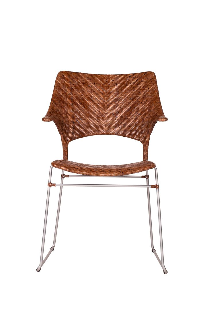 best new introductions images on pinterest - the powdercoated peacan steel and rattan osaka arm chair new for