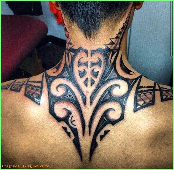 Beaded Wind Chimes Tribal Neck Tattoos Tattoos Polynesian Tattoo Designs