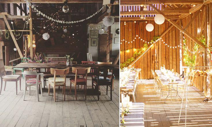 De finaste och mest romantiska bröllopslokalerna