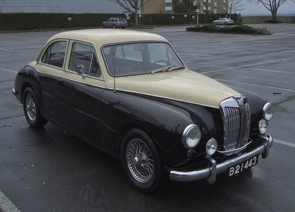 Uprated 1957 MG Magnette