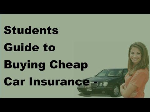 Student Guide to Buying Cheap Car Insurance - Student Car Insurance Rates of 2017 - WATCH VIDEO HERE -> http://bestcar.solutions/student-guide-to-buying-cheap-car-insurance-student-car-insurance-rates-of-2017     The 6 Secrets of Cheap Car Insurance Quotes Reflect online. 79, we have developed a variety of suggestions to help you save money on auto insurance. Many insurance companies offer multiple policy reductions, such as purchasing their insurance providers and obtaining