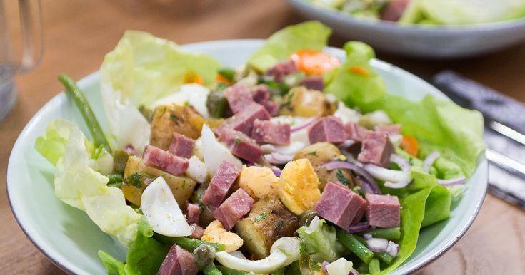Lust Koen Crucke het of niet? Salade met boontjes wortel en Gentse kop