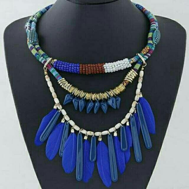 Saya menjual Kalung Fashion feather pendant decorated multilayer design Forever21 -T578F5 seharga Rp105.500. Dapatkan produk ini hanya di Shopee! https://shopee.co.id/deventostore/12316503 #ShopeeID