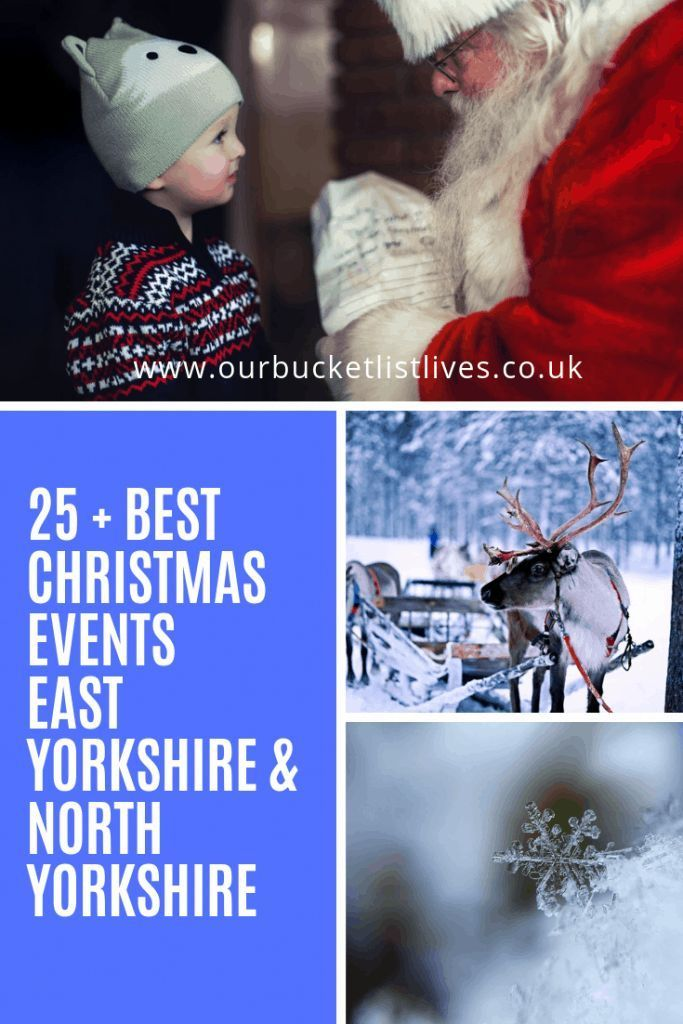 25 Best Christmas Events East Yorkshire North Yorkshire In 2020 Christmas Events East Yorkshire North Yorkshire