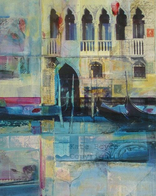 Passage of Time Venice Limited Edition Archival Print by Kate Boyce