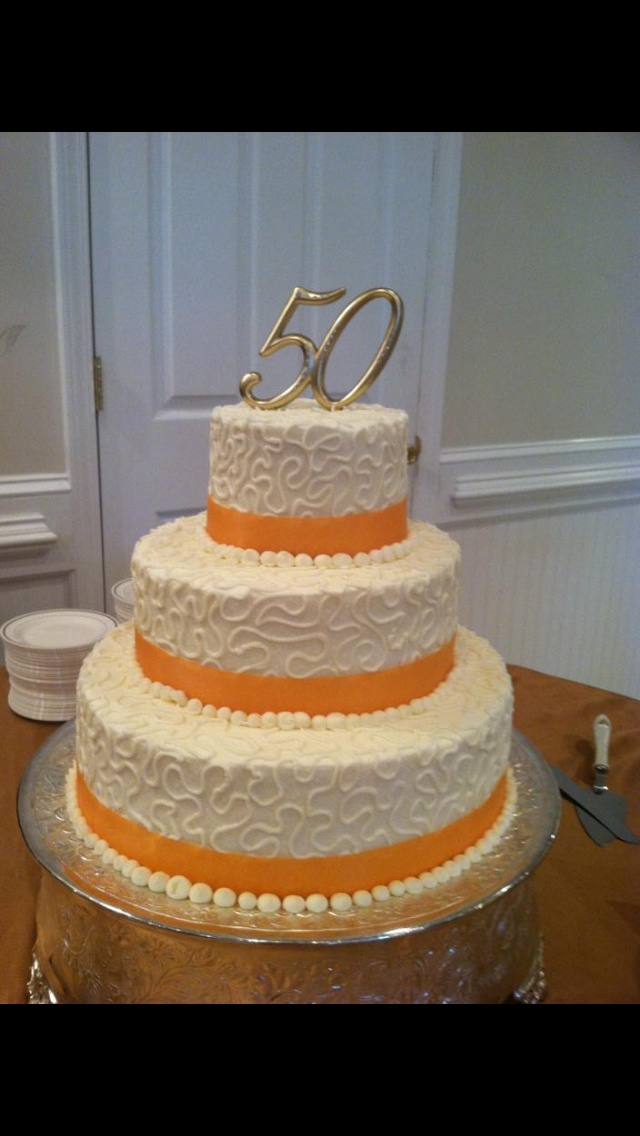 39 best images about 50th wedding anniversary on pinterest for 50th wedding anniversary cake decoration ideas