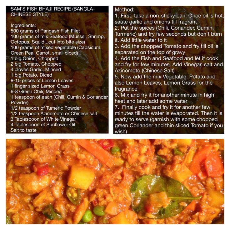 8 mejores imgenes de i yummy dishes en pinterest men fish bhaji recipe bangla chinese style sams experimental recipe very delicious forumfinder Images
