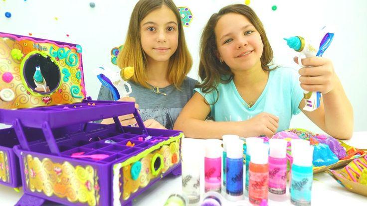 Игры для девочек: Волшебная шкатулка Давинчи и лучшие подружки Настя и В...